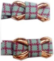 squnibee Check Bow Hair Clip(Green) - Price 145 51 % Off