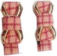Squnibee Check Bow Hair Clip(Orange) - Price 145 51 % Off