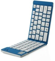 Technomart GK-228-Bluetooth Wireless Multi-device Keyboard(Blue)