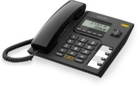 View Alcatel T-56 Corded Landline Phone(Black) Home Appliances Price Online(Alcatel)