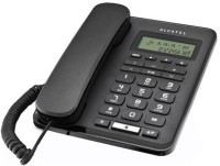 View Alcatel T-50 Corded Landline Phone(Black) Home Appliances Price Online(Alcatel)