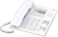 View Alcatel T-56 Corded Landline Phone(White) Home Appliances Price Online(Alcatel)
