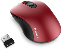 View Tecknet M001 Pure Wireless Optical  Gaming Mouse(2.4GHz Wireless, Red) Laptop Accessories Price Online(Tecknet)
