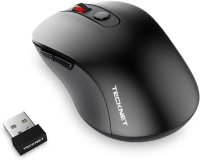 View Tecknet M001 Pure Wireless Optical  Gaming Mouse(2.4GHz Wireless, Black) Laptop Accessories Price Online(Tecknet)