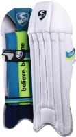 SG Club Men's (39 - 43 cm) Wicket Keeping Pad(White, wicket keeper)