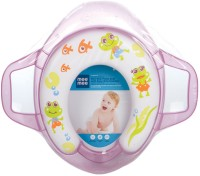 MeeMee Soft Cushioned with Support Handles Potty Seat(Purple)