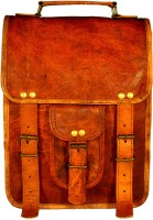 ALBORZ Women Brown Genuine Leather Messenger Bag