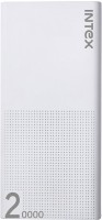 Intex 20000 mAh Power Bank (IT-PB 20K Poly)(White, Lithium Polymer)