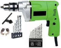 SAIFPRO 10MM WITH WALL & HSS BITS Pistol Grip Drill(10 mm Chuck Size)