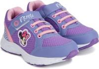 Disney Boys Velcro Running Shoes(Purple)