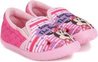 Disney Girls Slip on Sneakers(Pink)