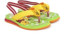 Disney Girls Slip On Slipper Flip Flop(Yellow)