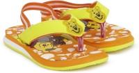 Disney Boys & Girls Slip On Slipper Flip Flop(Yellow)