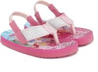 Disney Girls Slip On Slipper Flip Flop(Pink)