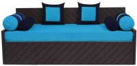 Auspicious Home Kaiden (2 Pillows, 4 Bolsters) Double Fabric Sofa Bed(Finish Color - Blue Mechanism Type - Pull Out)
