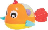Playgro Padding Bath Fish Bath Toy(Multicolor)