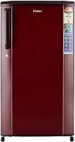 Haier 170 L Direct Cool Single Door 3 Star Refrigerator(Burgundy Red, HRD-1703SR-R/E)
