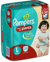 Pampers Baby-Dry Pants - L(20 Pieces)