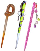 Pankh Juda Stick Hair Accessory Set(Multicolor) - Price 420 79 % Off