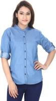 Trendyfrog Women Solid Casual Shirt