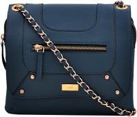 Yelloe Women Blue PU Sling Bag