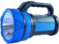 Home Delight 10 Watt Heavy Duty Long Range Fast Charge Twin Tube Emergency Light Torch(Blue, Black : Rechargeable)