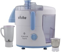 Singer Superb 230 18000 RPM(White, Blue, 2 Jars)