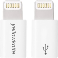 View Yellow Knife Micro USB OTG Adapter(Pack of 1) Laptop Accessories Price Online(Yellow Knife)