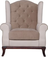 View Evok Adelphia Fabric 1 Seater(Finish Color - Beige/Brown) Furniture (Evok)