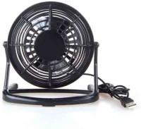 View Powerpak Plastic Series Mini USB Fan(Black) Laptop Accessories Price Online(Powerpak)