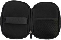 Gadget Deals Oval shaped - Soft & Waterproof 2.5 inch External Hard Disk Cover Pouch Enclosure(For Seagate, Toshiba, WD, Sony and Transcend 2.5 inch External HD, Black)