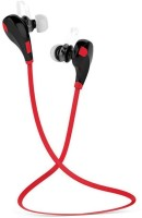 View Vellora Jogger QY7 RD004 Headphone(Red, In the Ear) Laptop Accessories Price Online(Vellora)