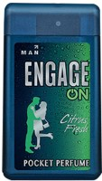 Engage On Citrus Fresh Pocket Perfume  -  18 ml(For Men)