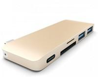 24x7eMall usb-hub-gold USB Adapter(Gold)