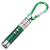 View CheckSums 11929 3 In 1- LED Flashlight + Torch Keychain + Laser Pointer-Multicolor(650 nm, Red) Laptop Accessories Price Online(CheckSums)