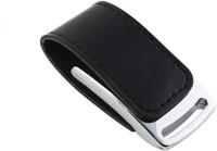 Green Tree Leather Fancy 16 GB Pen Drive(Black)