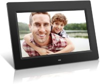 Maxed 10inch Digital Photo Frame with LCD Screen 10 inch TFT LCD(128 MB, Black)