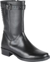 Salt N Pepper 14-527 Amonia Black Boots Boots For Women(Black)