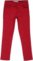 Poppers by Pantaloons Regular Fit Boys Red Trousers