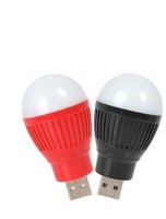 View Gadget Deals Pack of 2 Portable Mini USB Bulb Led Light(Multicolor) Laptop Accessories Price Online(Gadget Deals)