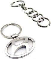 Alexus Audi And Hundai Key Chain(Silver)