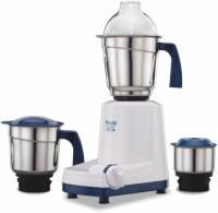 Preethi Eco Chef Neo- MG 199 500 W Mixer Grinder (3 Jars, White, Blue)