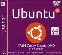 ubuntu 17.04 Zesty Zapus DVD 64 bit