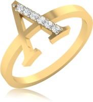 IskiUski The Alphabetical A Diamond Ring 18kt Diamond Yellow Gold ring