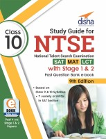 Study Guide for NTSE (SAT, MAT & LCT) Class 10 with Stage 1 & 2 Past Question Bank ebook 9th Edition(English, Paperback, Disha Experts)