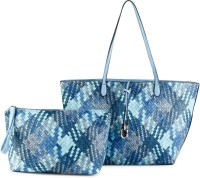 Cappuccino Shoulder Bag(Blue)