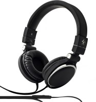 Flipkart SmartBuy Wired Headset With Mic(Black, Over the Ear)