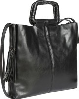 Bagkok Women Black PU Sling Bag