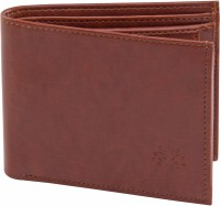 ALTON Men Brown Genuine Leather Wallet(6 Card Slots)