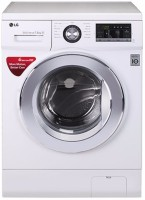 View LG 7.5 kg Fully Automatic Front Load Washing Machine White(FH2G6EDNL22)  Price Online